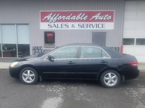 2004 Honda Accord for sale at Affordable Auto Sales & Service in Berkeley Springs WV