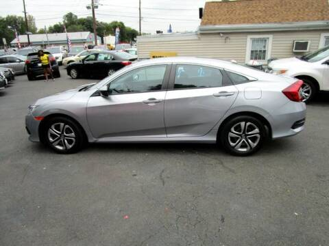 2017 Honda Civic for sale at American Auto Group Now in Maple Shade NJ