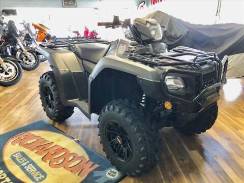 2019 Honda TRX500FA for sale at Richardson Sales & Service in Highland IN