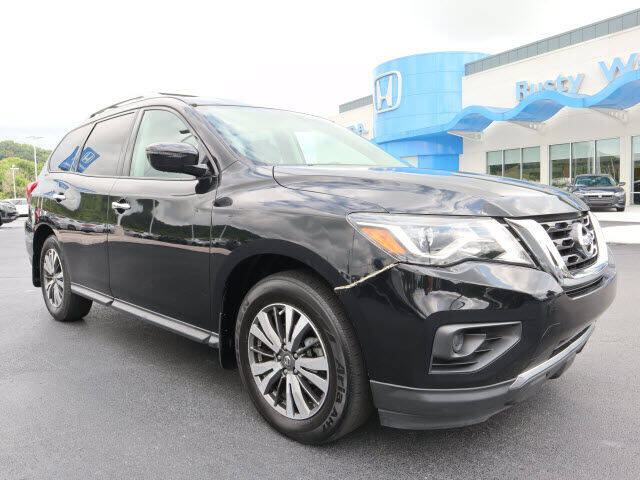 2017 Nissan Pathfinder for sale at RUSTY WALLACE HONDA in Knoxville TN