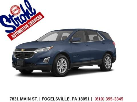 2018 Chevrolet Equinox for sale at Strohl Automotive Services in Fogelsville PA