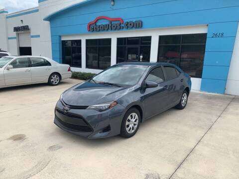 2017 Toyota Corolla for sale at ETS Autos Inc in Sanford FL