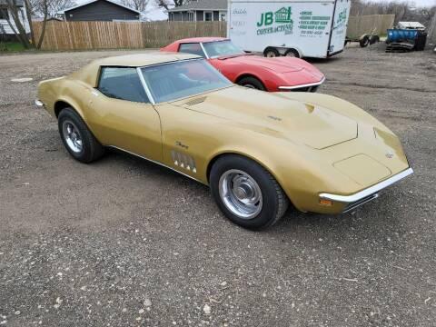 1969 Chevrolet Corvette for sale at CRUZ'N MOTORS - Classics in Spirit Lake IA