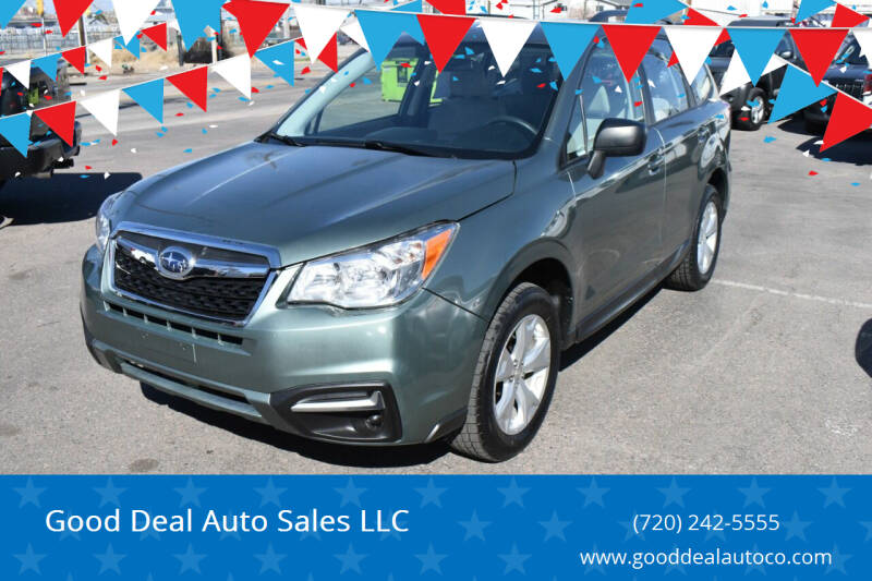 2016 Subaru Forester for sale at Good Deal Auto Sales LLC in Denver CO