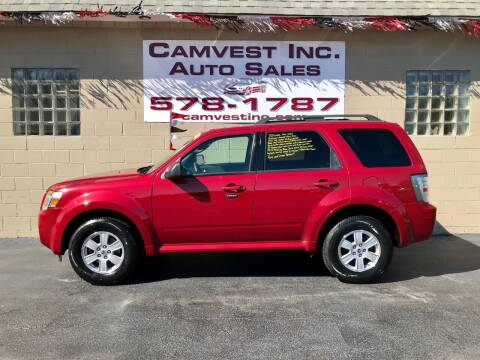 2010 Mercury Mariner for sale at Camvest Inc. Auto Sales in Depew NY