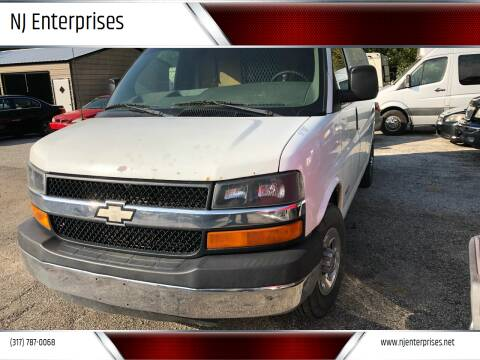 2003 Chevrolet Express Cargo for sale at NJ Enterprises in Indianapolis IN
