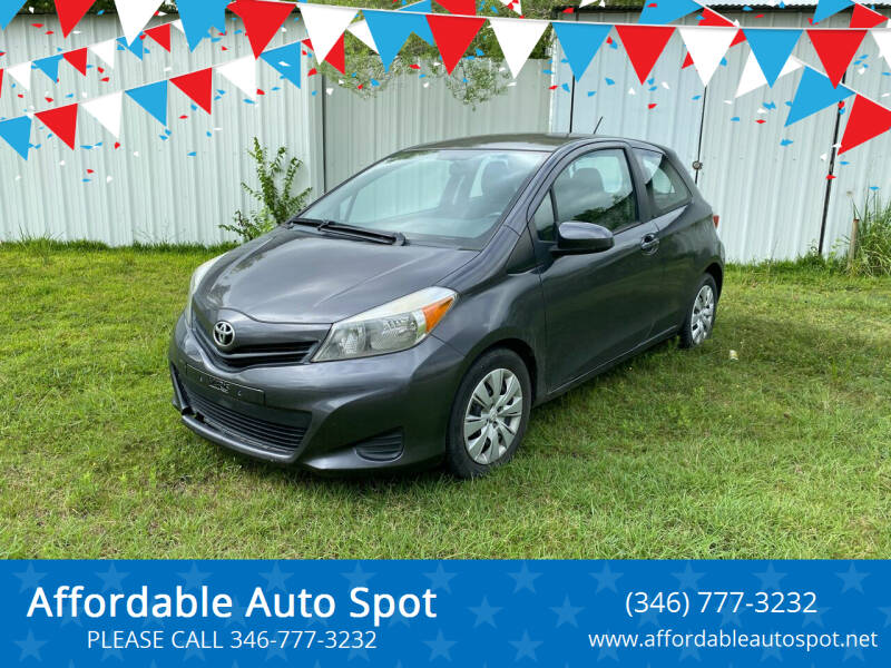 2014 Toyota Yaris for sale at Affordable Auto Spot in Houston TX