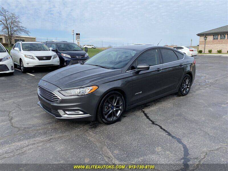 2018 Ford Fusion Hybrid for sale in Overland Park, KS