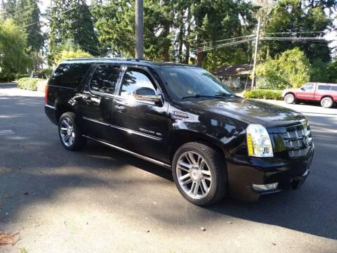 2014 Cadillac Escalade ESV for sale at Seattle Motorsports in Shoreline WA