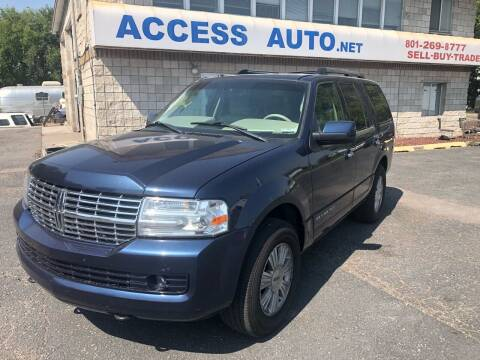 2013 Lincoln Navigator for sale at Access Auto in Salt Lake City UT