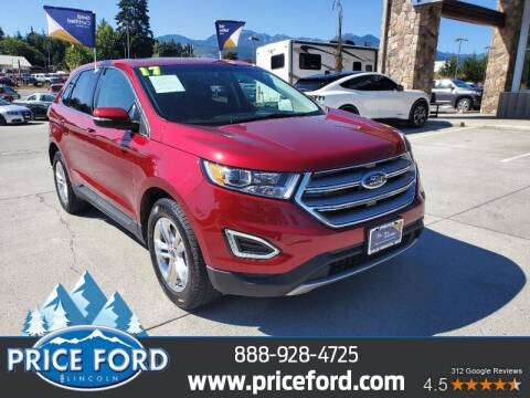 2017 Ford Edge for sale at Price Ford Lincoln in Port Angeles WA