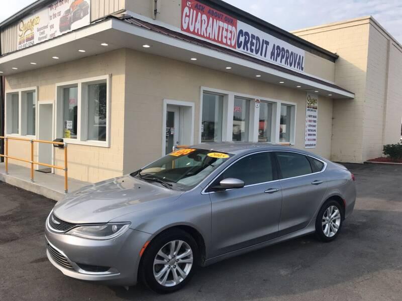 2015 Chrysler 200 for sale at Suarez Auto Sales in Port Huron MI