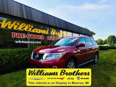 2016 Nissan Pathfinder for sale at Williams Brothers - Pre-Owned Monroe in Monroe MI