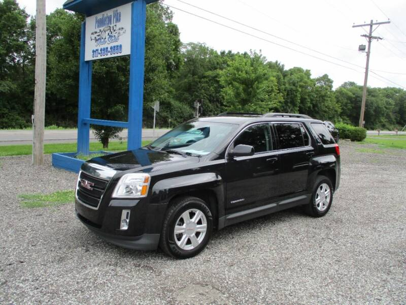 2015 GMC Terrain for sale at PENDLETON PIKE AUTO SALES in Ingalls IN