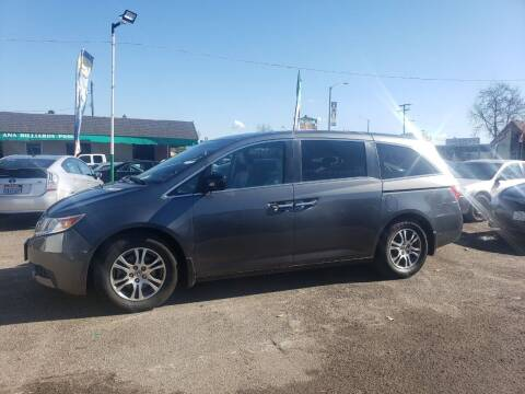 2012 Honda Odyssey for sale at LR AUTO INC in Santa Ana CA