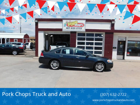 2013 Chevrolet Impala for sale at Pork Chops Truck and Auto in Cheyenne WY