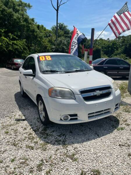 2008 Chevrolet Aveo for sale at Ideal Motors in Oak Hill FL