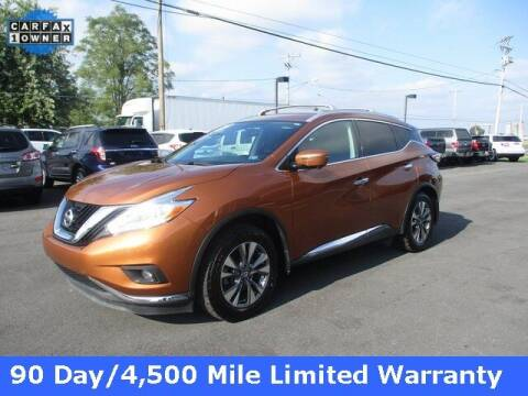2016 Nissan Murano for sale at FINAL DRIVE AUTO SALES INC in Shippensburg PA