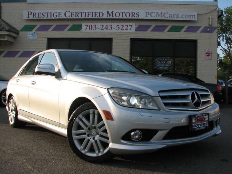 2008 Mercedes-Benz C-Class for sale at Prestige Certified Motors in Falls Church VA