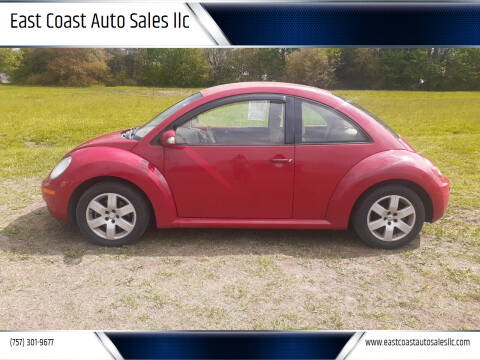 2007 Volkswagen New Beetle for sale at East Coast Auto Sales llc in Virginia Beach VA