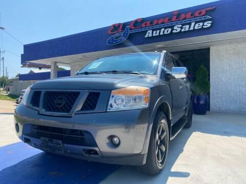 2008 Nissan Armada for sale at El Camino Auto Sales Gainesville in Gainesville GA