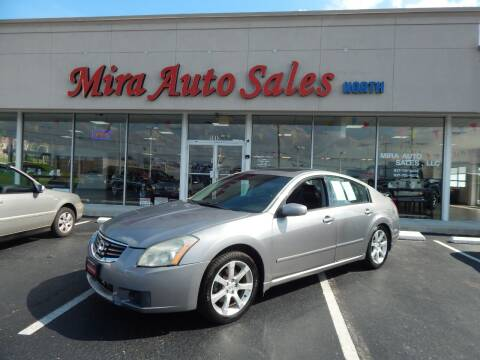 2008 Nissan Maxima for sale at Mira Auto Sales in Dayton OH