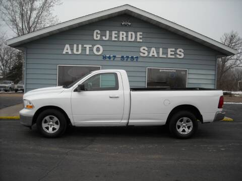 2011 RAM Ram Pickup 1500 for sale at GJERDE AUTO SALES in Detroit Lakes MN