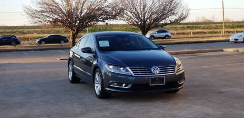 2013 Volkswagen CC for sale at America's Auto Financial in Houston TX