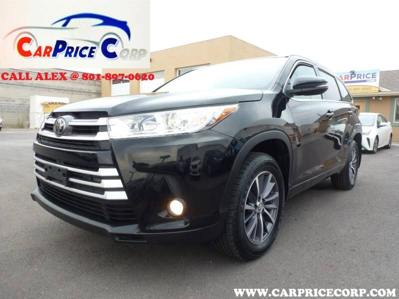 2018 Toyota Highlander for sale at CarPrice Corp in Murray UT
