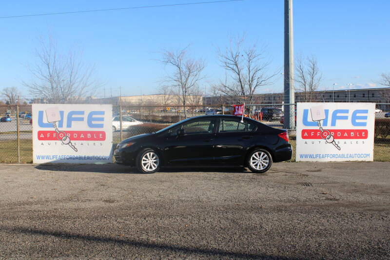 2012 Honda Civic for sale at LIFE AFFORDABLE AUTO SALES in Columbus OH