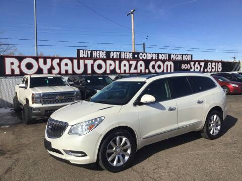 2013 Buick Enclave for sale at Roy's Auto Plaza 2 in Amarillo TX