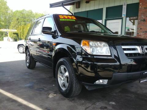2007 Honda Pilot for sale at Low Auto Sales in Sedro Woolley WA
