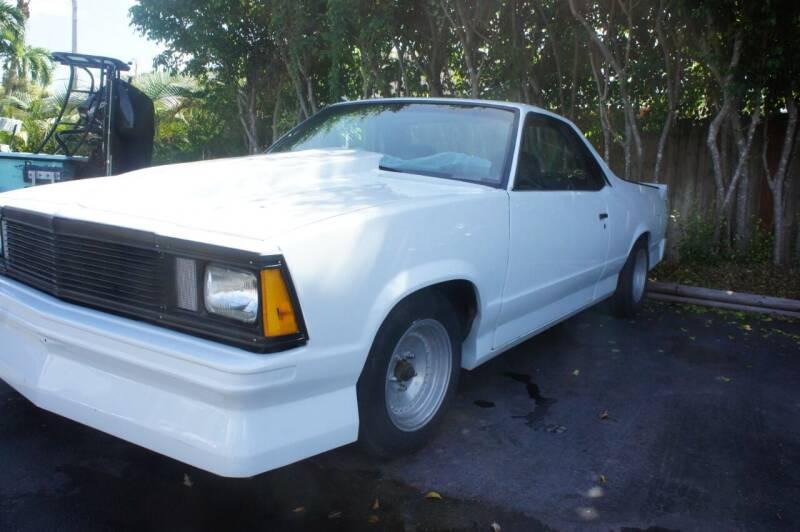 1981 Chevrolet El Camino for sale at Dream Machines USA in Lantana FL