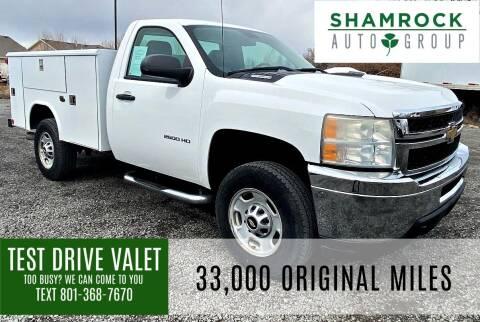 2011 Chevrolet Silverado 2500HD for sale at Shamrock Group LLC #1 in Pleasant Grove UT