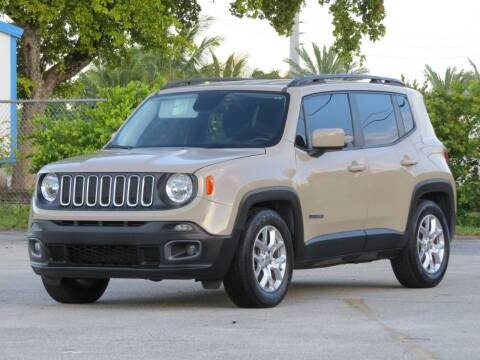 2015 Jeep Renegade for sale at DK Auto Sales in Hollywood FL