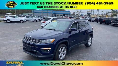 2017 Jeep Compass for sale at Duval Chevrolet in Starke FL