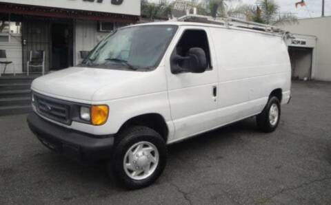 2006 Ford E-Series Cargo for sale at Cypress Motors of Ridgewood in Ridgewood NY
