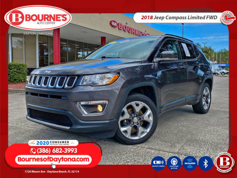 2018 Jeep Compass for sale at Bourne's Auto Center in Daytona Beach FL