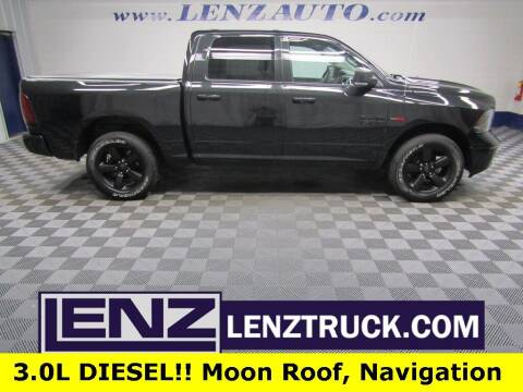 2018 RAM Ram Pickup 1500 for sale at LENZ TRUCK CENTER in Fond Du Lac WI