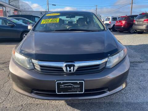 2012 Honda Civic for sale at Cape Cod Cars & Trucks in Hyannis MA