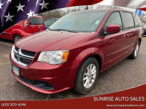 2015 Dodge Grand Caravan for sale at Sunrise Auto Sales in Stacy MN