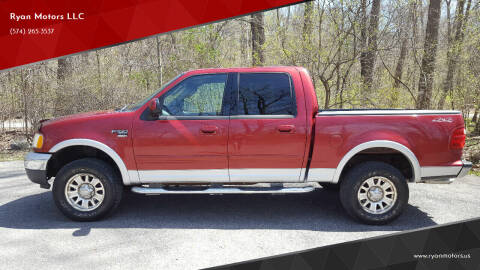 2003 Ford F-150 for sale at Ryan Motors LLC in Warsaw IN