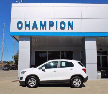 2016 Chevrolet Trax for sale at Champion Chevrolet in Athens AL