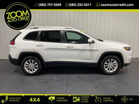 2021 Jeep Cherokee for sale at ZoomAutoCredit.com in Elba NY