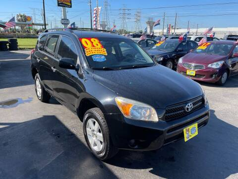 2008 Toyota RAV4 for sale at Texas 1 Auto Finance in Kemah TX