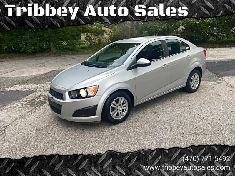2012 Chevrolet Sonic for sale at Tribbey Auto Sales in Stockbridge GA