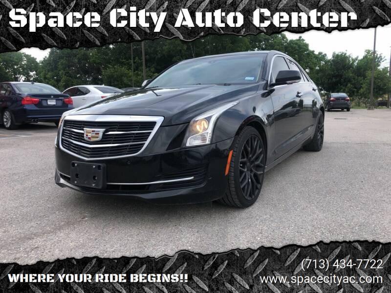 2015 Cadillac ATS for sale at Space City Auto Center in Houston TX
