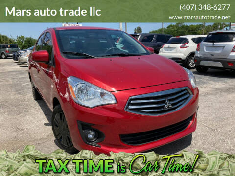 2018 Mitsubishi Mirage G4 for sale at Mars auto trade llc in Kissimmee FL