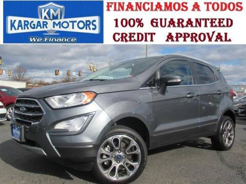2020 Ford EcoSport for sale at Kargar Motors of Manassas in Manassas VA
