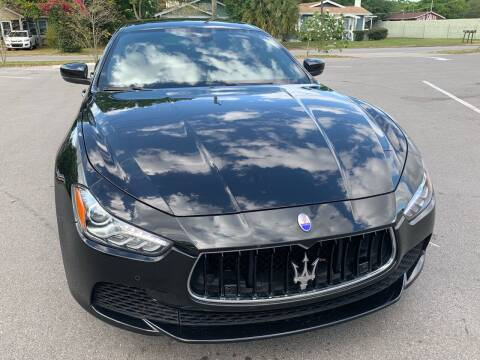 2017 Maserati Ghibli for sale at Consumer Auto Credit in Tampa FL